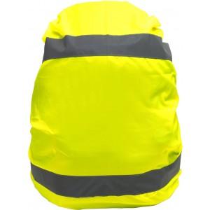 Fényvisszaverő láthatósági hátizsákvédő, sárga